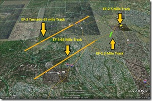 tornado tracks so far