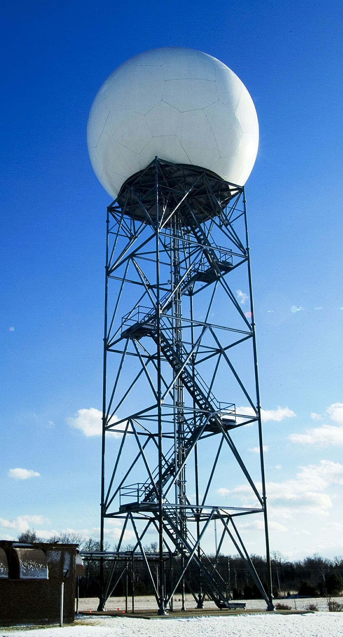 our local doppler radar upgrades to dual