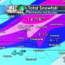 Manuel Snowfall Map